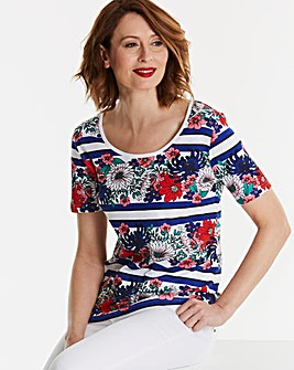 Value Cotton Short Sleeve Top