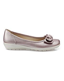 Hotter Jewel Standard Fit Ballerina Shoe