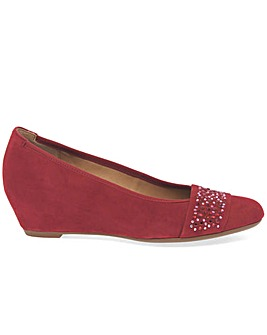 Gabor Fodder Womens Wedge Heel Shoes