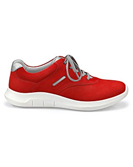 Hotter Rebound Sporty Lace-up Shoe