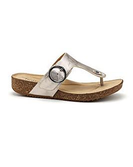 Hotter Resort Wide Fit Mule Sandal