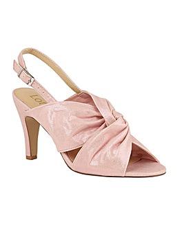 Lotus Leandra Stiletto Open-Toe Shoes