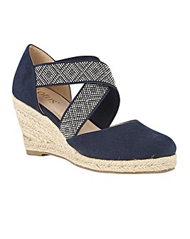 Lotus Zade Wedge Shoes Standard D Fit