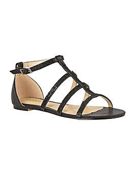 Lotus Zelina Flat Open-Toe Sandals