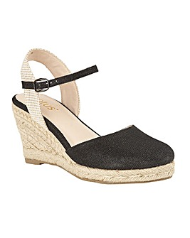 Lotus Maira Wedge Espadrille Shoes