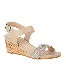 Lotus Ace Wedge Open-Toe Sandals