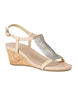 Lotus Klarissa Wedge Open-Toe Sandals