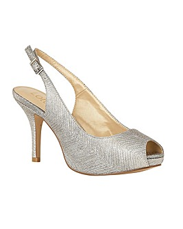 Lotus Adora Stiletto Peep-Toe Shoes
