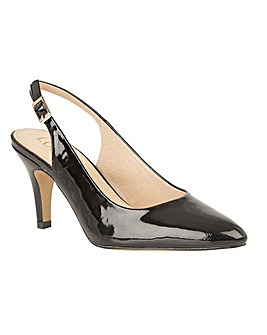 Lotus Lizzie Sling-back Court Shoes