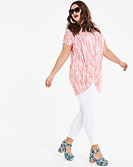Longer Length Tuck Side Tunic