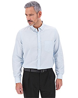 Sky Blue Long Sleeve Oxford Shirt