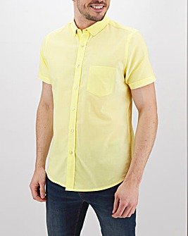 Lemon Short Sleeve Oxford Shirt Long