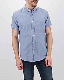 Nautical Short Sleeve Oxford Shirt Long