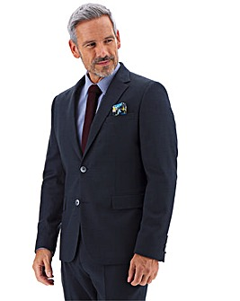 Navy Ed Regular Fit Suit Jacket