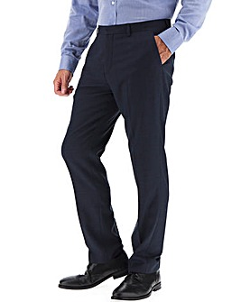 Navy Ed Regular Fit Suit Trousers