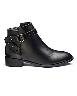 Breanne Buckle Boots Wide E Fit