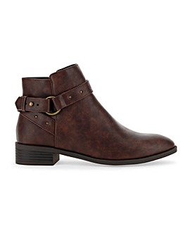 Breanne Buckle Boots Extra Wide Fit