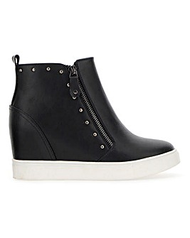 Dulcie Wedge Trainer Extra Wide Fit