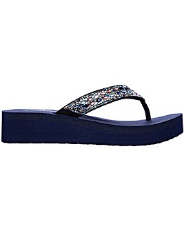Skechers Vinyasa Glory Day Slip On Toe Post