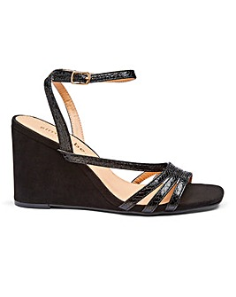 Ava Strappy Wedge Extra Wide Fit