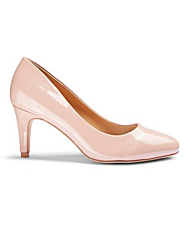 Rhea Classic Court Shoe Extra Wide Fit