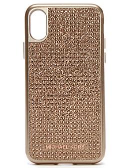Michael Kors Diamante iPhone X Case