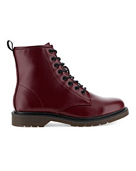 Delta Lace Up Worker Boot Wide Fit