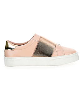 Fiona Elasticated Trainer Wide E Fit