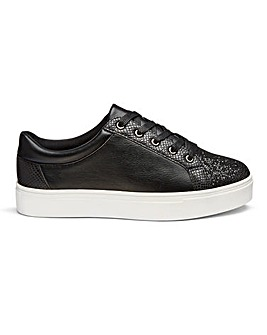 Lizzie Glitter Toecap Wide Fit