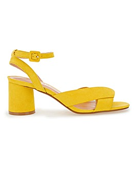 Belle Ankle Strap Low Sandal Wide Fit