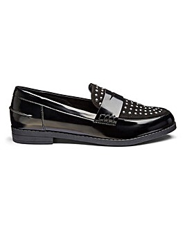 Pheobe Studded Loafer Wide Fit