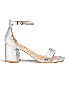 Roxie Diamante Sandals Extra Wide Fit