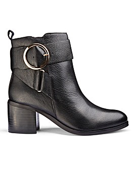 Louisa Leather Boots Wide Fit
