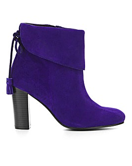 Beth Suede Boots Wide Fit