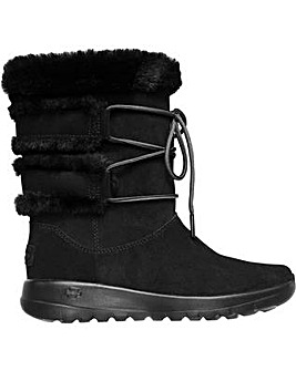 Skechers On-The-Go Joy Cyclone Mid Boot