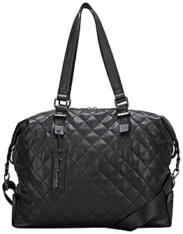 Claudia Canova Shoulder Bag Quilted Zip