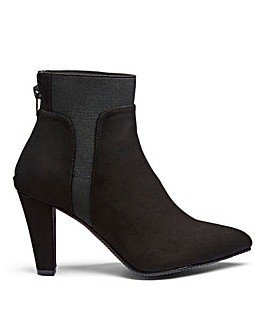 Audrey Stretch Boots Wide E Fit