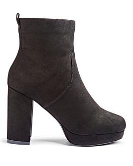 Keela Platform Boots Extra Wide Fit
