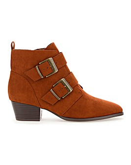 Lexie Western Boot Wide Fit