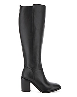 Michelle Leather Wide Fit Standard Calf
