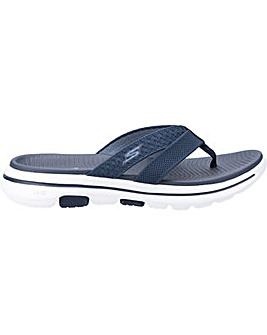 Skechers Gowalk 5 Sun Kiss Slip On Toe Post