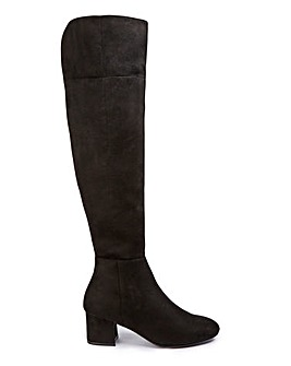 Felicity Boots Wide Fit Super Curvy Calf