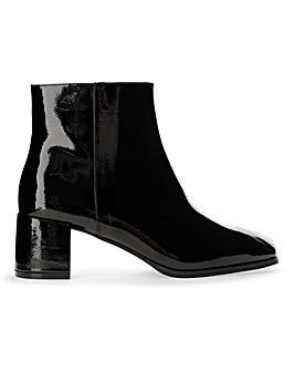Erica Block Heel Boots Extra Wide Fit