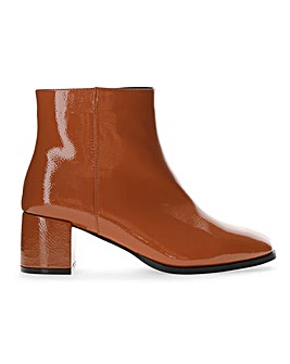 Erica Block Heel Boots Wide Fit