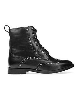 Tanya Biker Boot Extra Wide Fit
