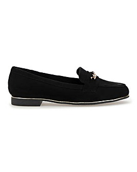 Sinead Chain Loafer Wide Fit