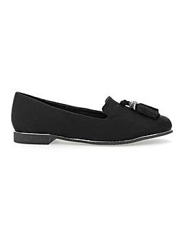 Tamsyn Tassel Loafer Wide Fit