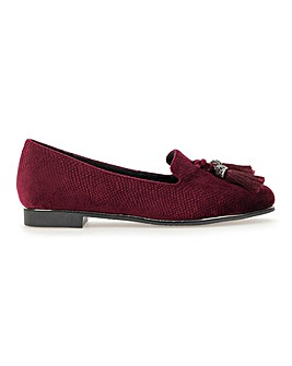 Tamsyn Tassel Loafer Wide Fit