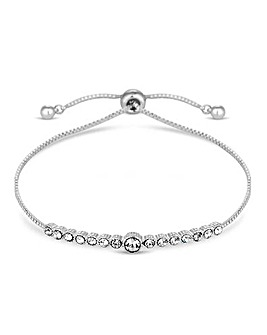 Jon Richard Crystal Bar Toggle Bracelet