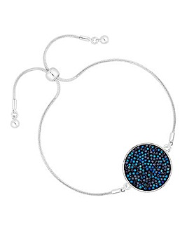Jon Richard Crystal Rocks Disc Bracelet
